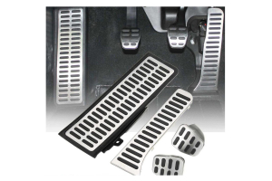 Set 4 pedale din otel pentru Volkswagen Golf /Jetta /Vento, volan dreapta4