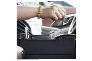 Cutie stocare auto cu usb, loc telefon, pusculita, suport pahar4