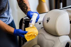Set de ingrijire BenBow pentru curatare si intretinere piele auto, Benbow, 350ml5