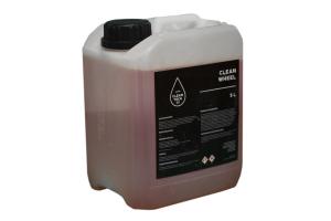 Clean Wheel, solutie din acid, pt curatat jante auto 5L0
