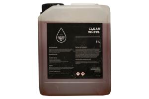 Clean Wheel, solutie din acid, pt curatat jante auto 5L1