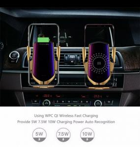 Suport telefon auto cu incarcare wireless [5]