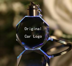 Breloc chei din cristal - inscriptie auto1