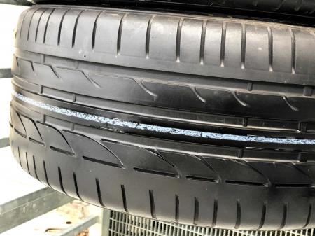 set 2 anvelope 245/40 R17 runflat sh vara Bridgestone 6mm cu garantie [2]