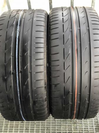 set 2 anvelope 245/40 R17 runflat sh vara Bridgestone 6mm cu garantie [0]