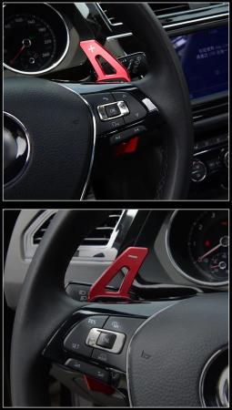 Set 2 padele volan pentru VW, Shift Paddle, VW Tiguan MK2 VW Golf7/8 MK7/8 Variant Alltrack MK7 T-Cross Passat B8 [4]