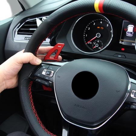 Set 2 padele volan pentru VW, Shift Paddle, VW Tiguan MK2 VW Golf7/8 MK7/8 Variant Alltrack MK7 T-Cross Passat B8 [5]