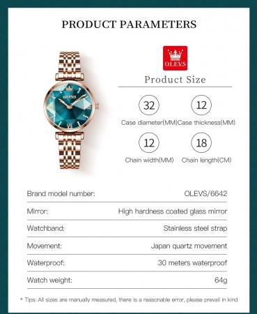 Set pentru femei 3 buc Luxury ceas, bratara, colier [3]