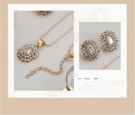 Set cadou 4 buc pentru femei: ceas, cercei, colier [1]