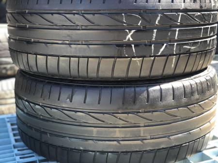 set 2 anvelope 235/45 R18  sh vara Bridgestone 4.5mm cu garantie [0]