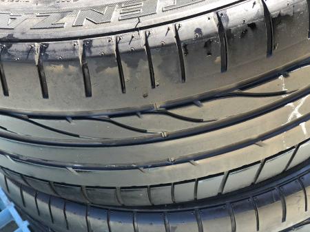 set 2 anvelope 235/45 R18  sh vara Bridgestone 4.5mm cu garantie [2]