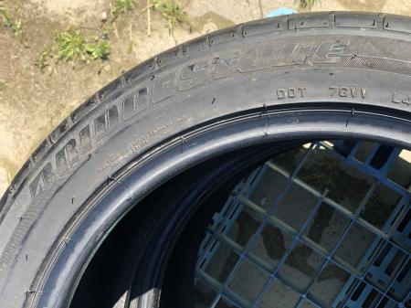set 2 anvelope 235/45 R18  sh vara Bridgestone 4.5mm cu garantie [3]