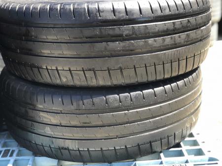 set 2 anvelope 215/45 R18  sh vara Michelin 5mm cu garantie [0]
