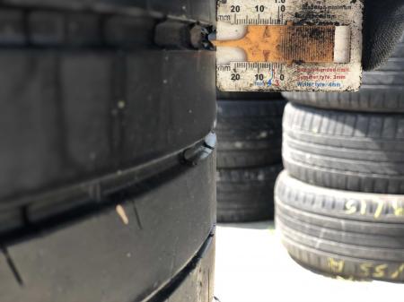 set 2 anvelope 245/35 R18  sh vara Michelin 6mm cu garantie [6]