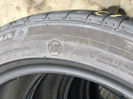 set 2 anvelope 225/45 R17 Runflat sh vara Bridgestone 5.5mm cu garantie [5]