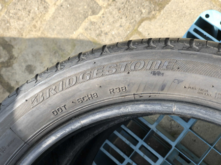set 2 anvelope 225/45 R17 sh vara Bridgestone 6mm cu garantie [4]
