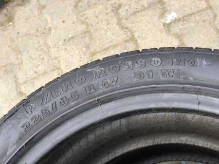 set 2 anvelope 225/45 R17 sh vara Pirelli 5.5mm cu garantie [4]