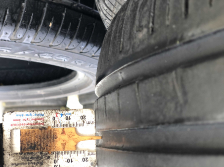 set 2 anvelope 225/45 R17 sh vara Pirelli 5.5mm cu garantie [5]