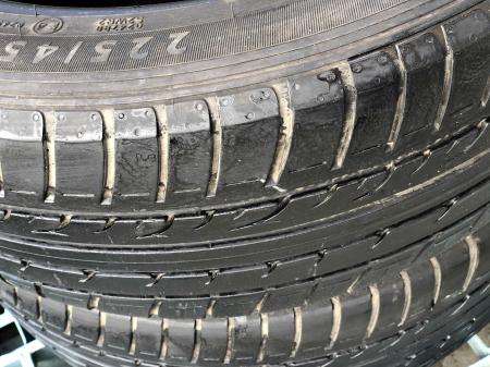 set 2 anvelope 225/45 R17 sh vara Dunlop 6mm cu garantie [2]