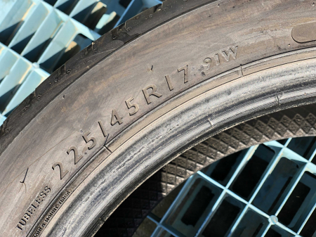 set 4 anvelope 225/45 R17 sh vara Dunlop 5.5mm cu garantie [3]