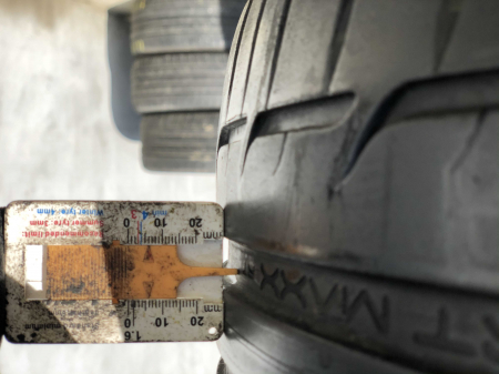 set 4 anvelope 225/45 R17 sh vara Dunlop 5.5mm cu garantie [6]