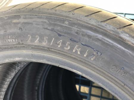 set 4 anvelope 225/45 R17 91Y sh vara Dunlop 5.5mm cu garantie [4]