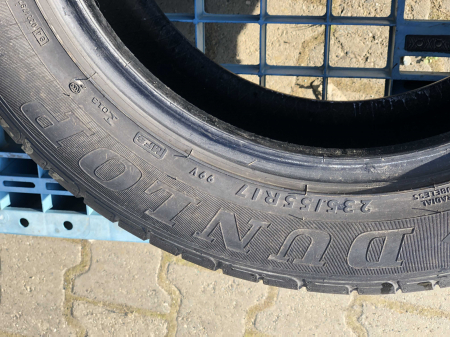 set 4 anvelope 235/55 R17 sh vara Dunlop 5.5mm cu garantie [3]
