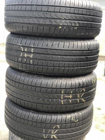 set 4 anvelope 215/55 R17 sh vara Pirelli 6.5mm cu garantie [0]