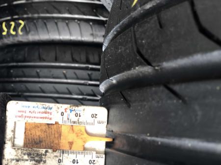 set 2 anvelope 225/50 R17 sh vara Continental 5.5mm cu garantie [5]