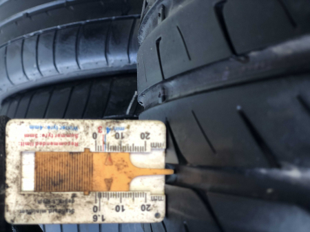set 2 anvelope 225/50 R17 sh vara Performance 5mm cu garantie [6]