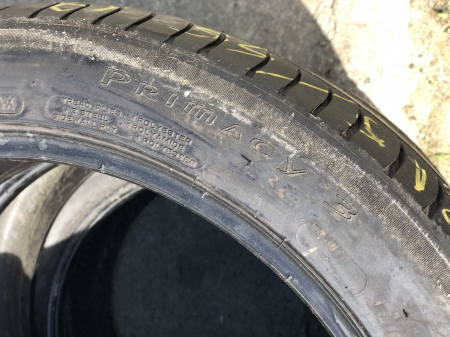 set 2 anvelope 215/45 r17 sh vara Michelin 6mm cu garantie [5]