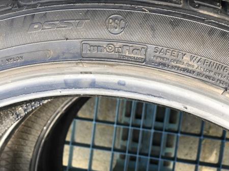 set 2 anvelope 205/45 r17 Runflat sh vara Dunlop 5.5mm cu garantie [5]