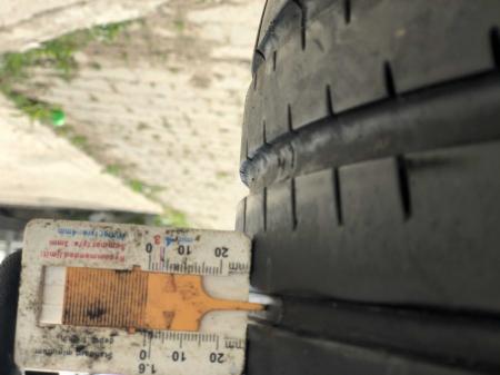 set 2 anvelope 245/40 R17 sh vara Hankook 6mm cu garantie [6]