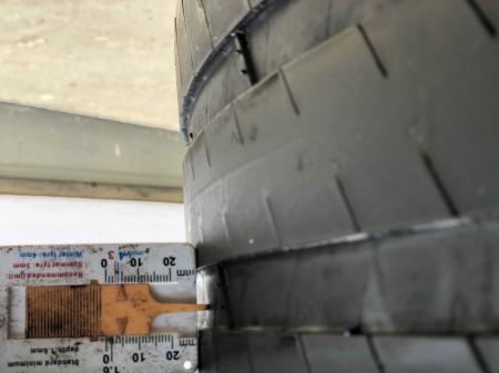 set 2 anvelope 315/35 R20 sh vara Michelin 4.5mm cu garantie [5]