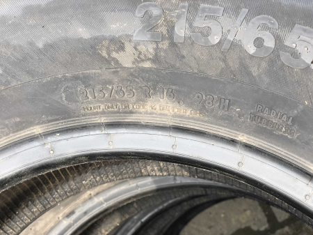 set 2 anvelope 215/65 R16 sh vara Continental 5mm cu garantie [5]