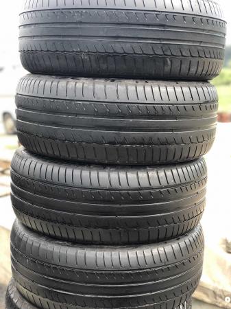 set 4 anvelope 225/55 R16 sh vara Michelin 5mm cu garantie [0]