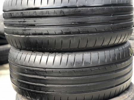 set 2 anvelope 215/55 R16 sh vara Dunlop 5.5mm cu garantie [0]
