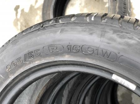 set 4 anvelope 205/55 R16 sh vara Michelin 5-7mm cu garantie [5]