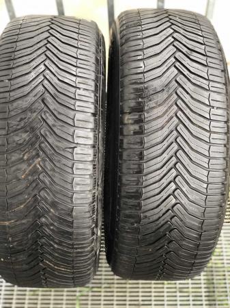 set 2 anvelope 205/55 R16 91H sh vara Michelin 5.5mm cu garantie [0]