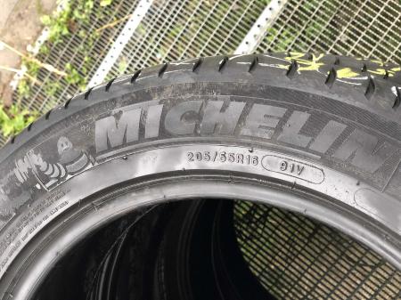 set 4 anvelope 205/55 R16 91V sh vara Michelin 5mm cu garantie [2]