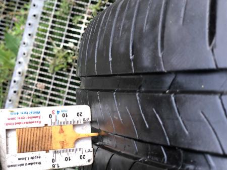 set 4 anvelope 205/55 R16 91V sh vara Michelin 5-6mm cu garantie [6]