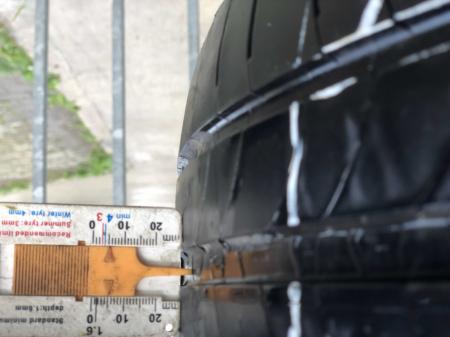 set 4 anvelope 205/55 R16 91V sh vara Michelin 5-6mm cu garantie [7]