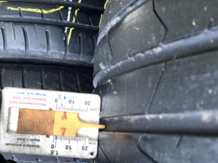 set 2 anvelope 205/55 R16 91V sh vara Hankook 5mm cu garantie [6]