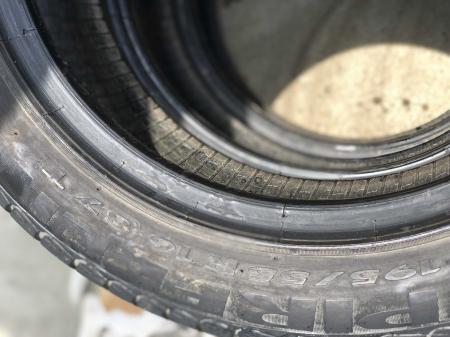 set 2 anvelope 195/55 R16 sh vara Pirelli 3mm cu garantie [4]