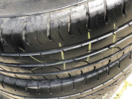 set 2 anvelope 195/55 R16 87V sh vara Continental 5.5mm cu garantie [2]