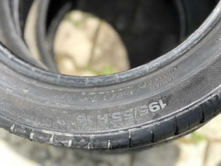 set 2 anvelope 195/55 R16 87V sh vara Continental 5.5mm cu garantie [3]