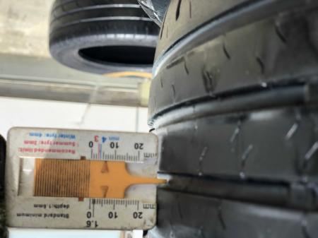 set 4 anvelope 195/55 R16 87H sh vara Continental 5.5mm cu garantie [6]