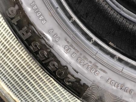 set 2 anvelope 205/55 R16 91V sh vara Continental 6.5mm cu garantie [4]