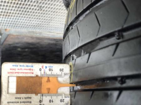set 2 anvelope 205/55 R16 91V sh vara Continental 6.5mm cu garantie [6]