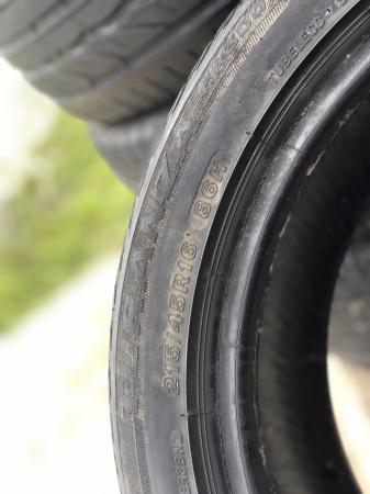 set 4 anvelope 215/45 R16 sh vara Bridgestone 5mm cu garantie [3]